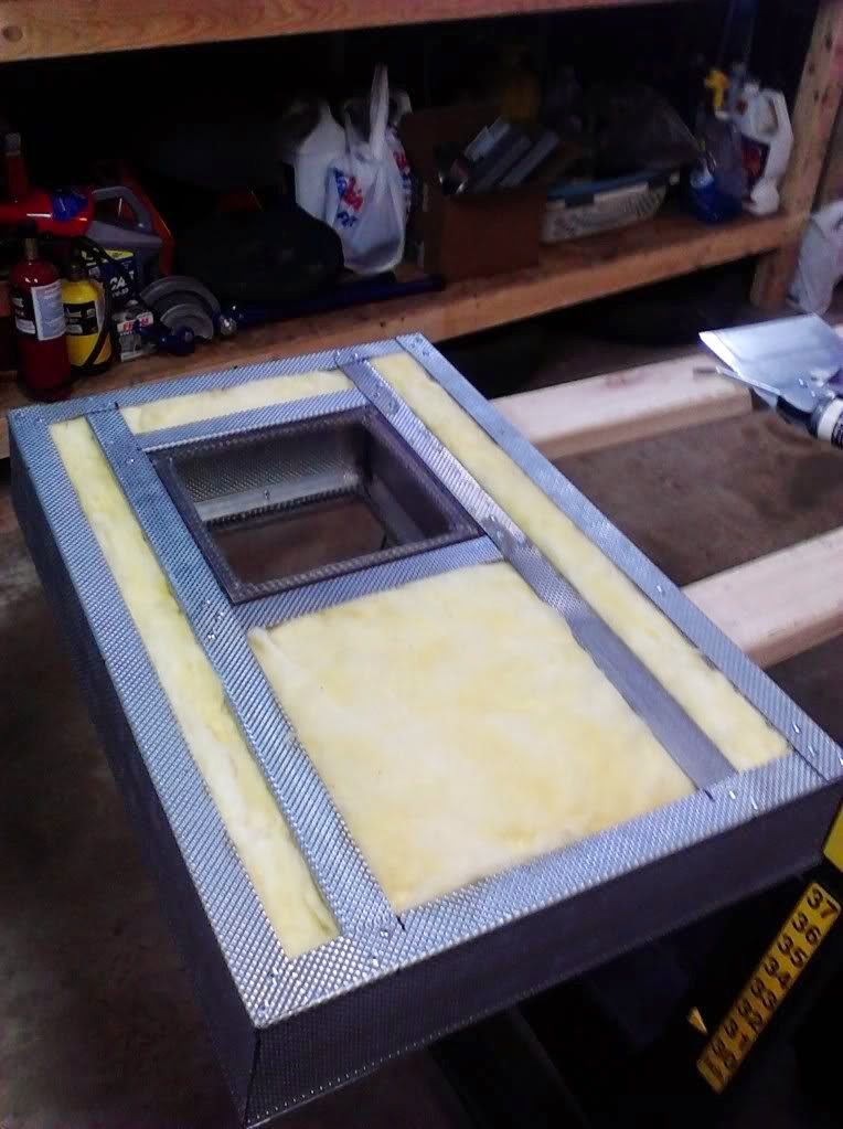 Powder Coating Oven Window Insulation