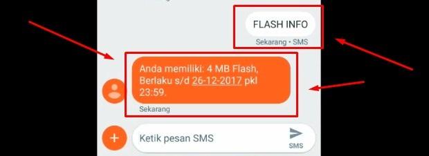 Cek Pulsa Telkomsel Dengan Mengirim SMS 4