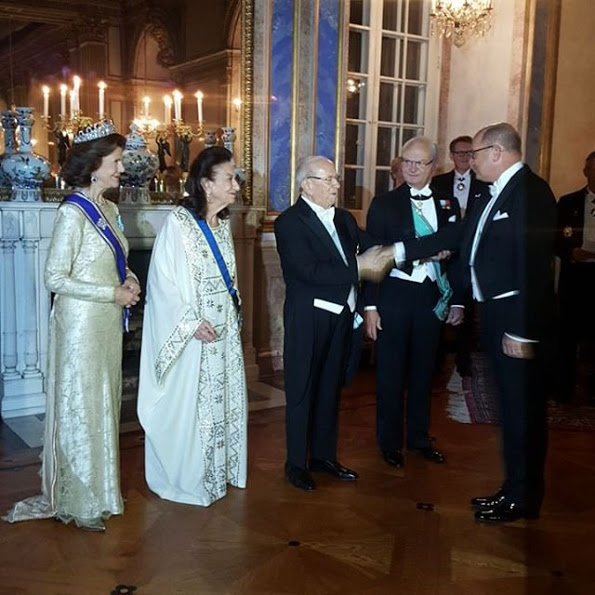 Banquet For President Beji Caid Essebsi At The Stockholm Palace