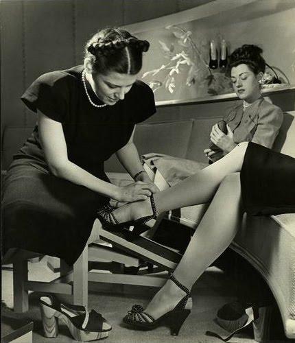 1940 S Porn - La Poubelle Vintage: 1940s Shoe Porn