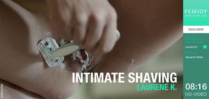 FemJoy - Laurene K. - Intimate Shaving