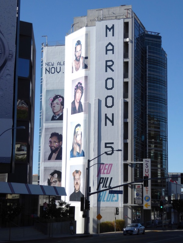 Maroon 5 Red Pill Blues billboard