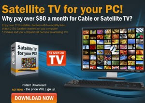 Download Satellite TV for PC 2011