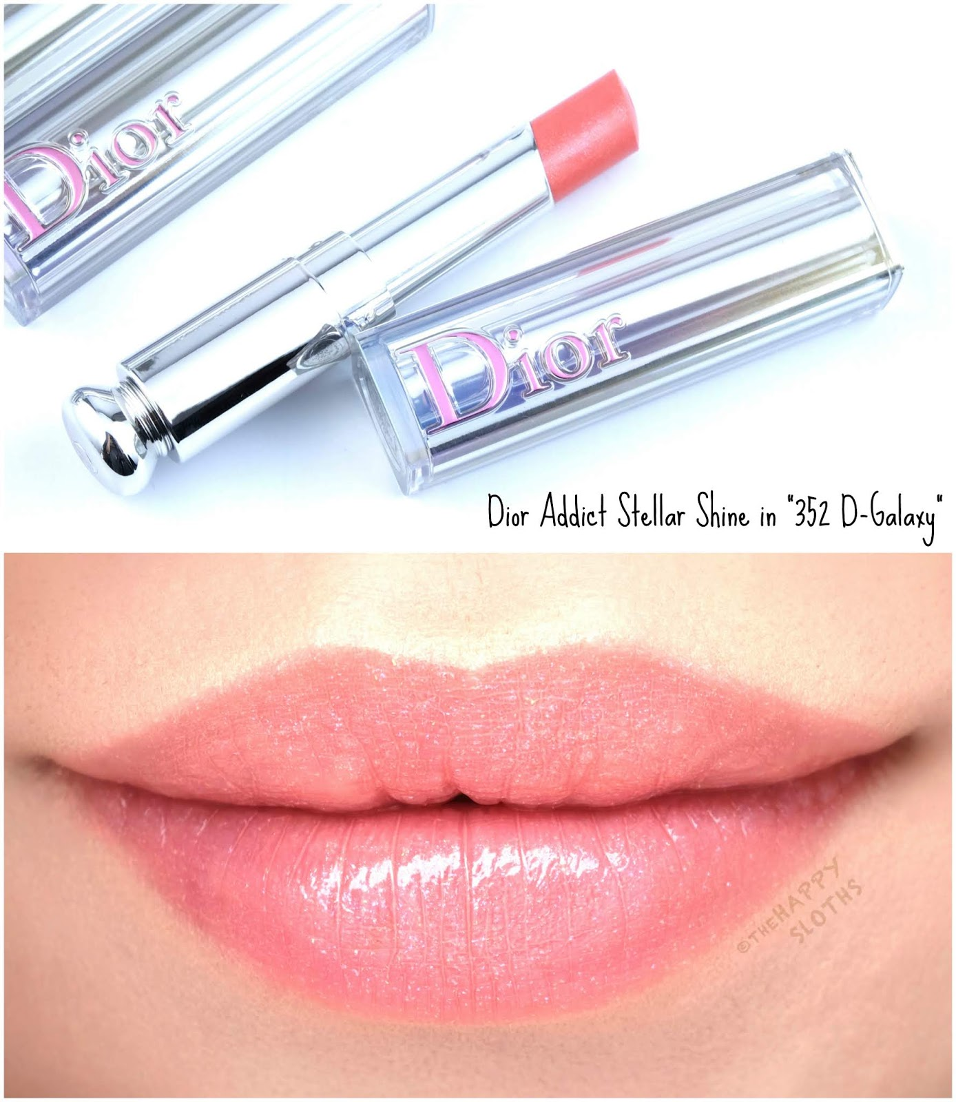 "Dior | Dior Addict Stellar Shine in ""352 D-Galaxy"": Review and Swatches"