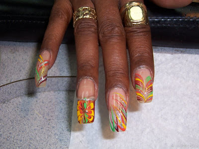 Cool Nails Art Design African American Manicures by