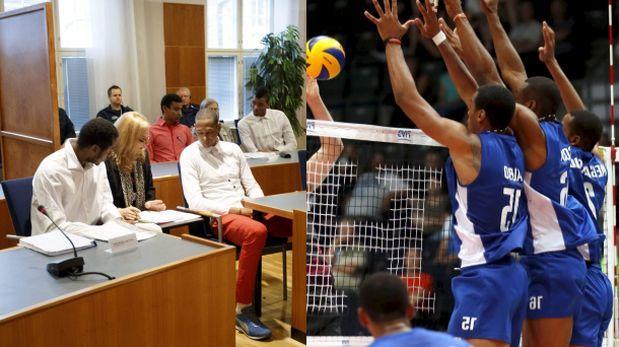 Solo dos personas los han visitado: el embajador de Cuba en Finlandia y el presidente de la Federación Cubana de Voleibol, aclararon ellos.