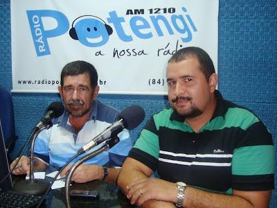 Resultado de imagem para rádio potengi 1210