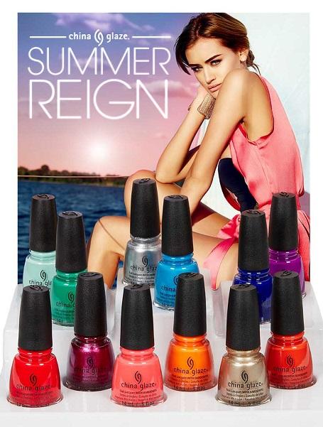?Summer Reign? ? la colección de verano 2017 de CHINA GLAZE