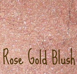 南瓜和罂粟化妆品 - 玫瑰金腮红