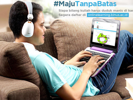 Yuk Kuliah Online di Binus