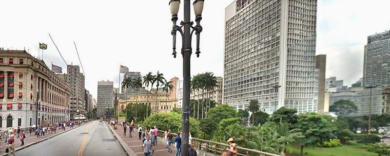 Viaduto do Chá | Centro de São Paulo