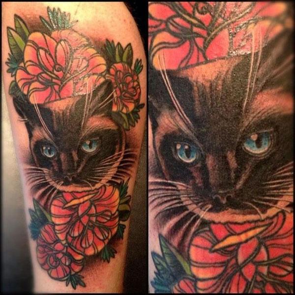 Sina minou tattoo