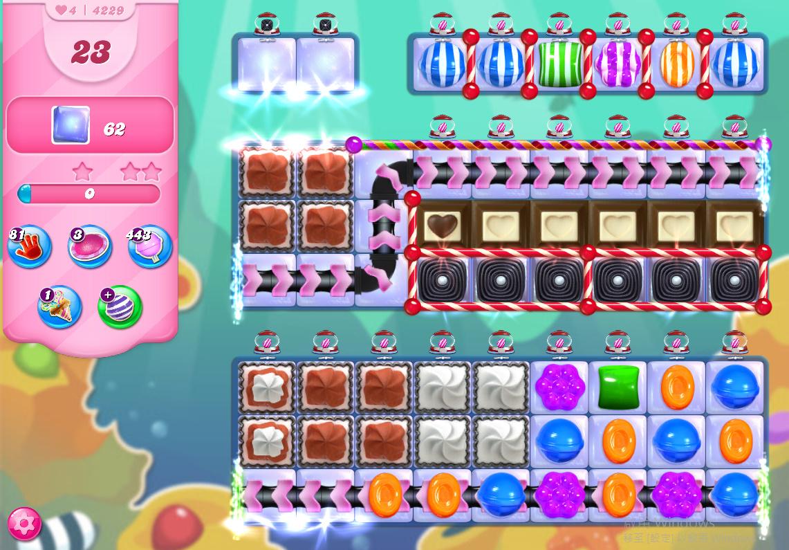 Candy Crush Saga level 4229