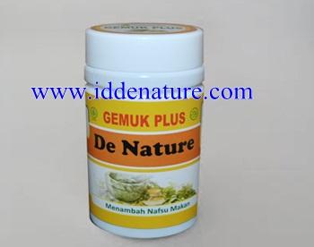 Obat Penambah Nafsu Makan de Nature | Jual Herbal Asli