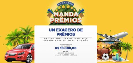 Promoção Manda Prêmios - Concorra a Prêmios em Dinheiro! - Baú da ... c0a38858a6