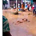 Nigerian Soldiers Force Man To Roll In  Dirty Water... (Video)