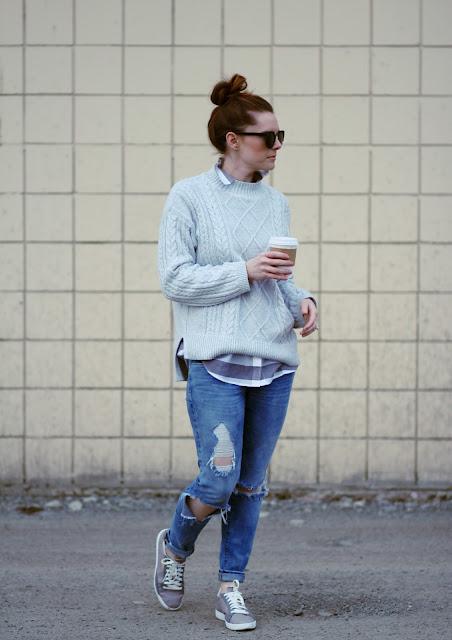 Cute Sneaker Outfits- Puma Sneakers via Bloomingdales