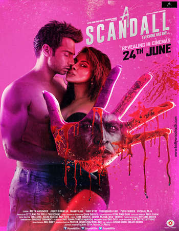 Poster Of A Scandall 2016 Hindi 700MB CamRip x264 Watch Online Free Download Worldfree4u