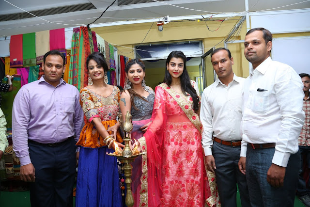 Celebs at Silk & Cotton Expo Exhibition Begins @ Himayathnagar
