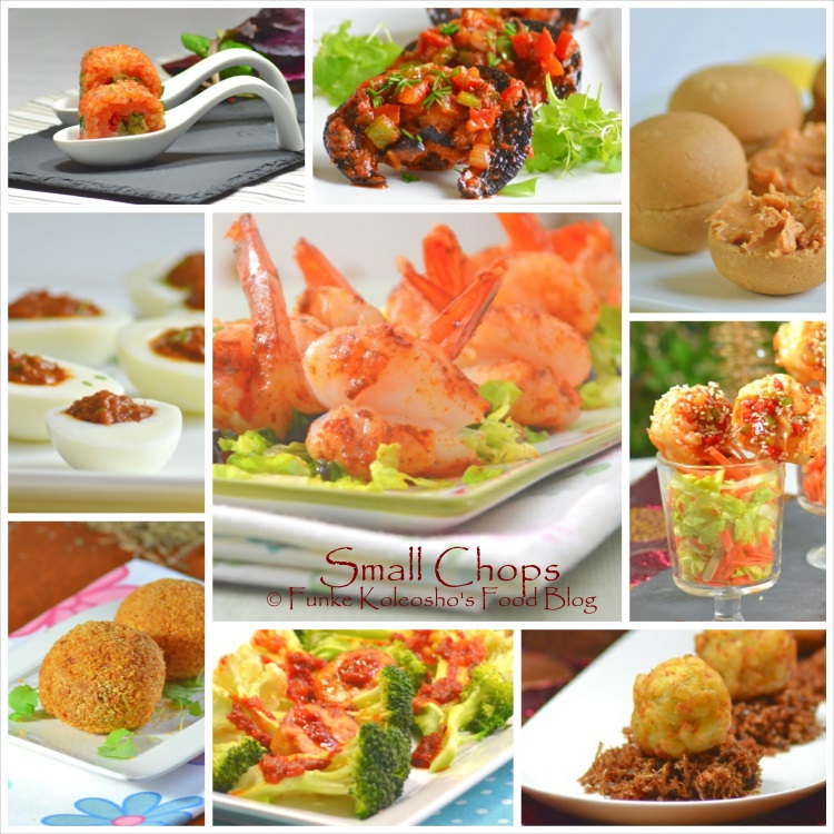 Food ideas canap s funke koleosho 39 s new nigerian cuisine for Canape food ideas