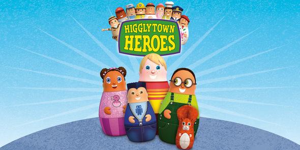 Heroes Books Higglytown