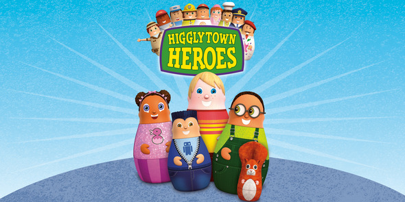 Higglytown Heroes Logo