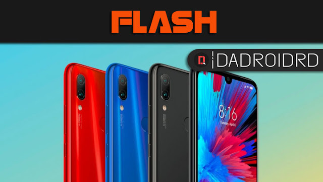 Cara Flash Redmi Note 7