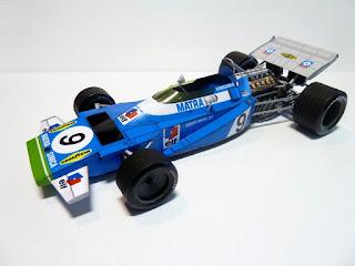 Matra Simca MS120 - Jean Pierre Beltoise & Henry Pescarolo - Monaco GP 1970 (Spinler)