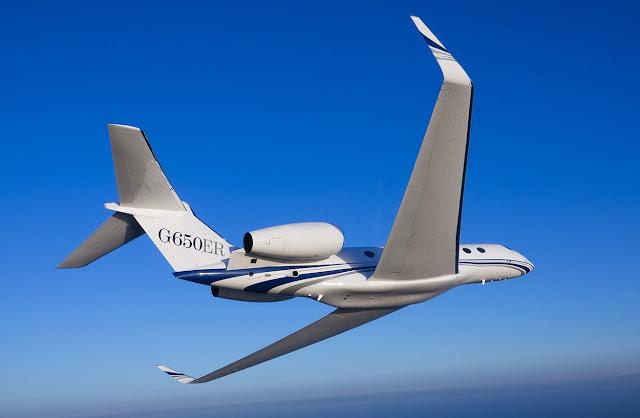 Gulfstream G650ER Inflight