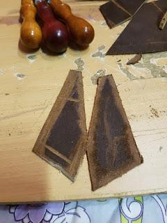 pièce de cuir parées