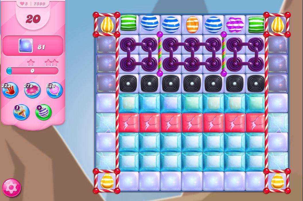 Candy Crush Saga level 7599