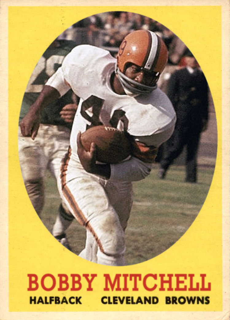 Image result for jim brown and bobby mitchell