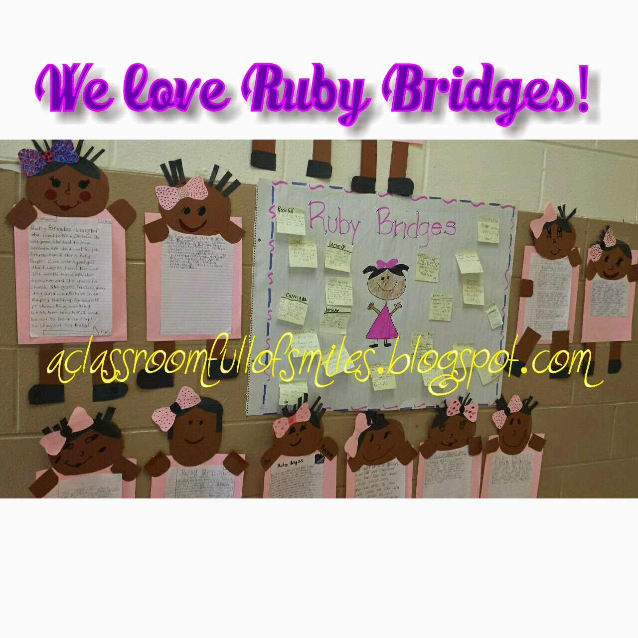 A Classroom Full of Smiles: A mini unit on Ruby Bridges