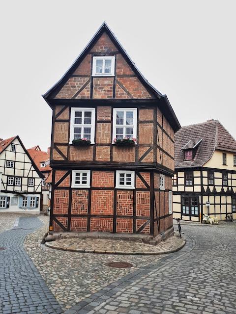 Fachwerkhaus style houses in Quedlinburg