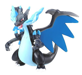 Mega Charizard X clear version Takara Tomy Monster Collection MONCOLLE