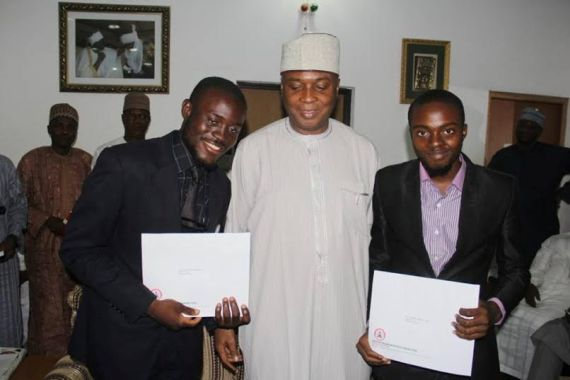 Saraki awards scholarships to Law school .