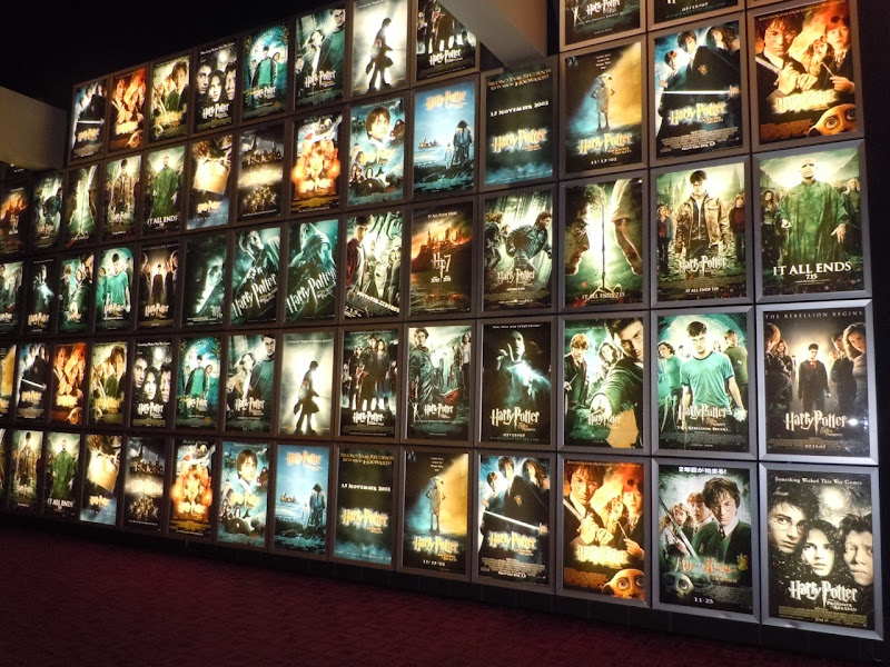 Harry Potter poster wall