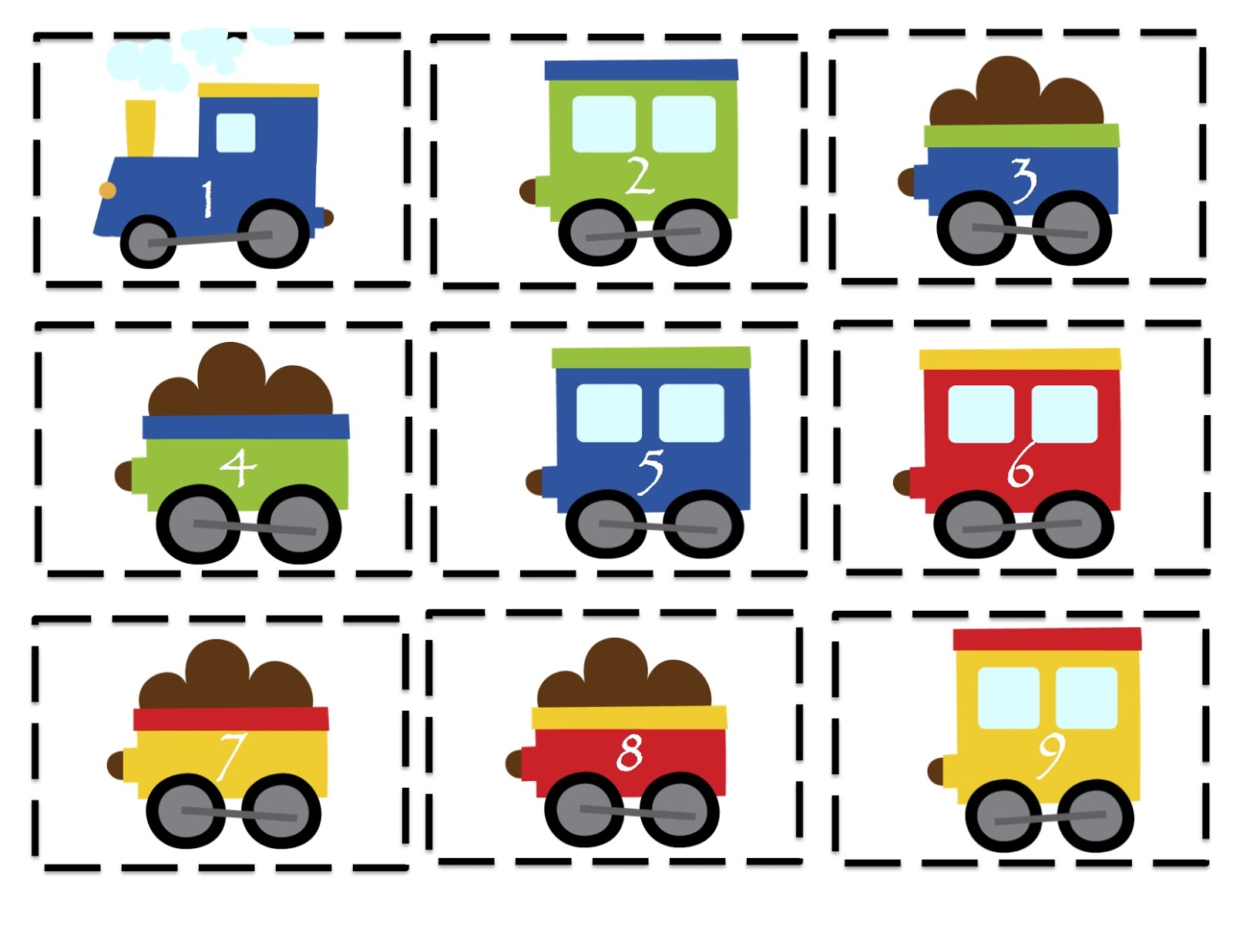 Trains, Planes And Automobiles Printable