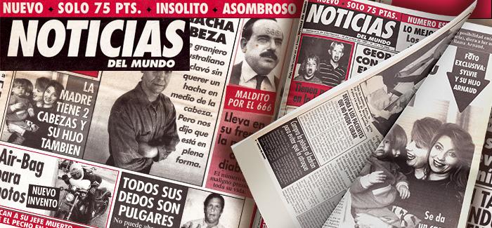 Periódico Noticias del Mundo Número 17 1995