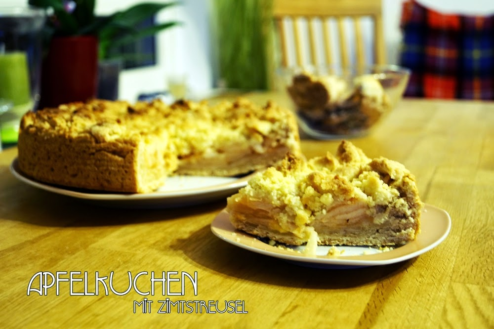 Apfelkuchen mit Zimtstreusel