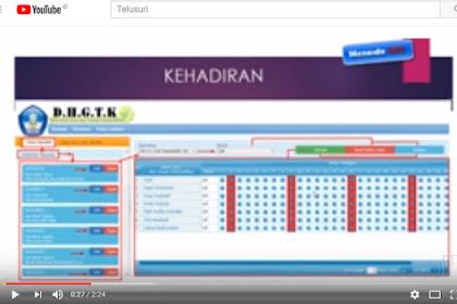 TUTORIAL VIDEO INPUT ABSENSI ONLINE DAPODIKDAS