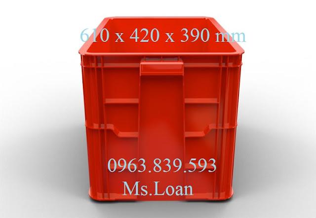 Hộp nhựa 3T9, hộp nhựa đặc đựng hải sản, hộp nhựa công nghiệp 0963.839.593 HS026-02