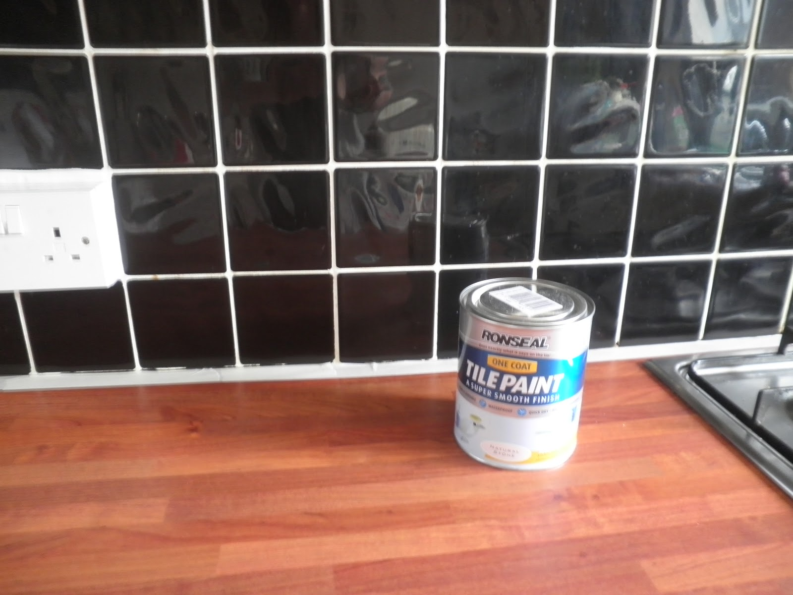 Painting Kitchen Tiles: The Chimney Pot: Before And After