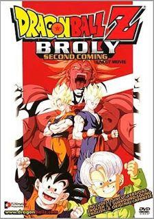 Dragon Ball Z: El Regreso de Broly dvdrip latino