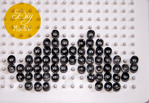 Bigotes Hama Beads
