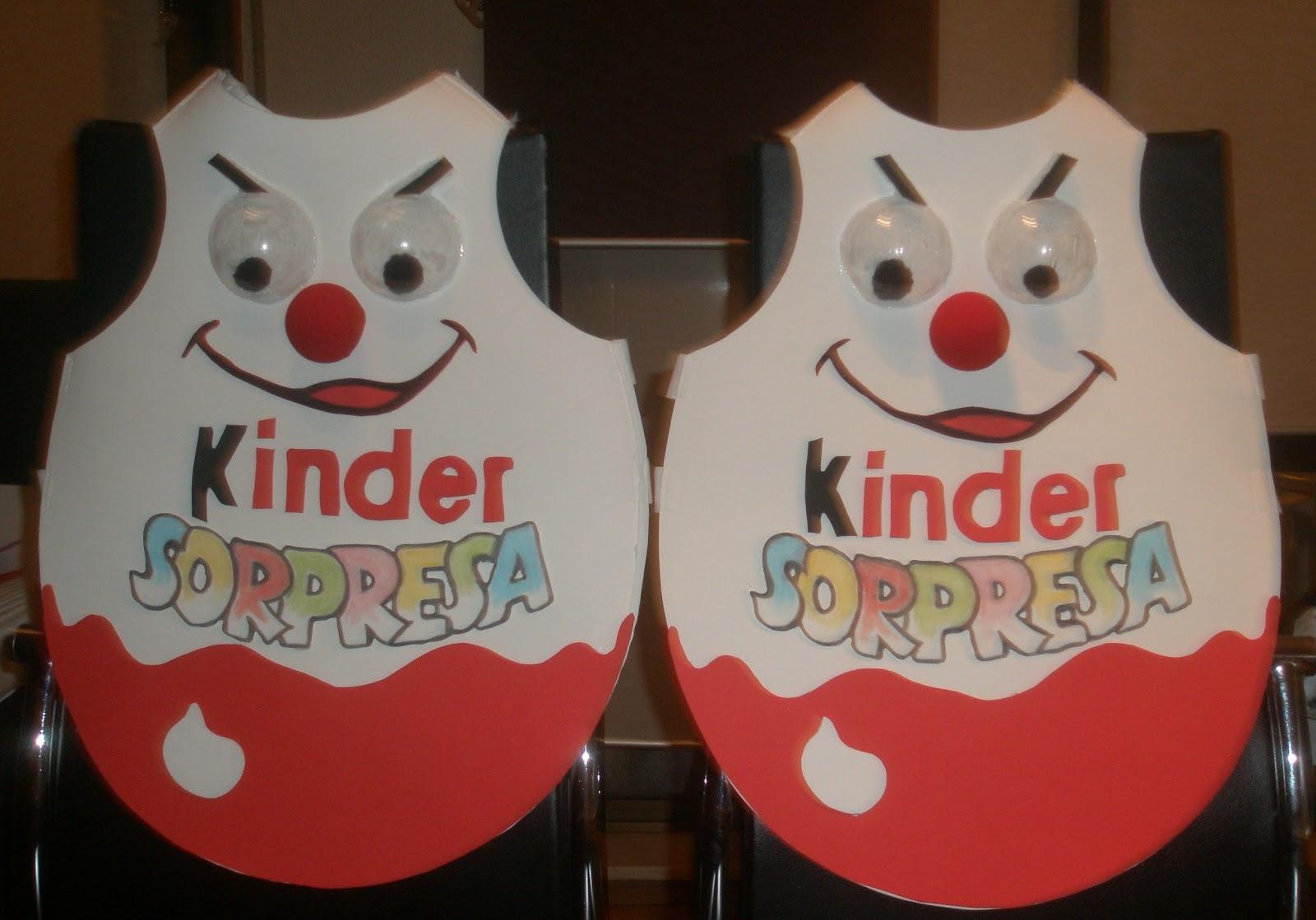 Foamais disfraz kinder sorpresa - Disfraces carnaval original ...