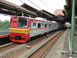 kereta api Listrik (KRL) Jabotabek