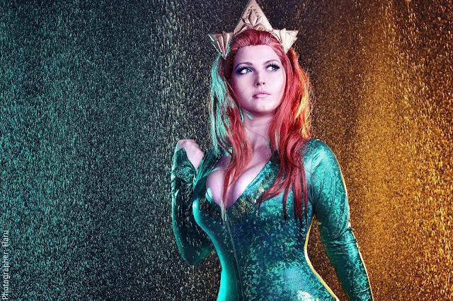 Milena Himes se muestra como la Mera de Aquaman
