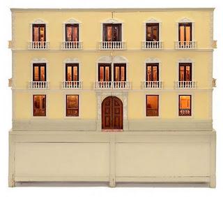 """""""casa de muñecas"""" """"antigua"""" """"palacio"""" 1:12 dollhouse"""