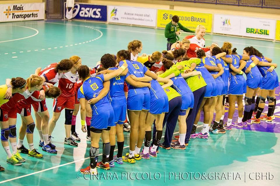 Amistoso Brasil vs Estados Unidos | Mundo Handball